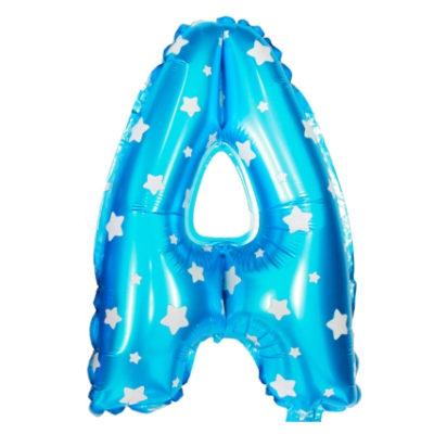16″ Letter Foil Balloons – Blue