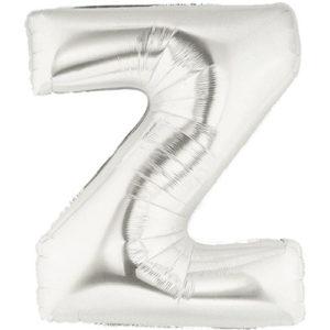 "16″ Letter Foil ""Z""-Silver"