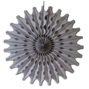 45 cm Grey Paper Fan