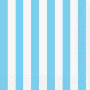 Blue Stripe Napkins – 20PK