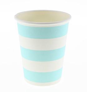 Blue Stripes cups – 12PK