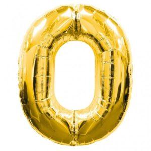 16″ Number Foil – Gold
