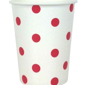 Red Polka Dot Cups – 12PK