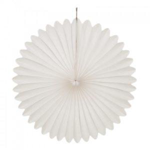 30 cm White Paper Fan