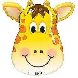 Jolly Giraffe Foil Balloons