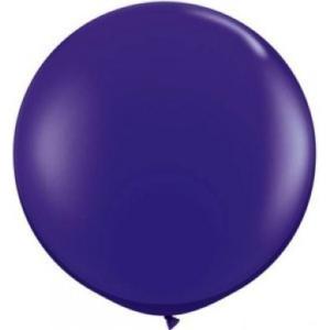 90 cm Jumbo Balloons- Purple