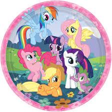 My Little Pony Dinner Paper Plates – 8Pk