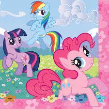 My Little Pony Napkins – 16Pk