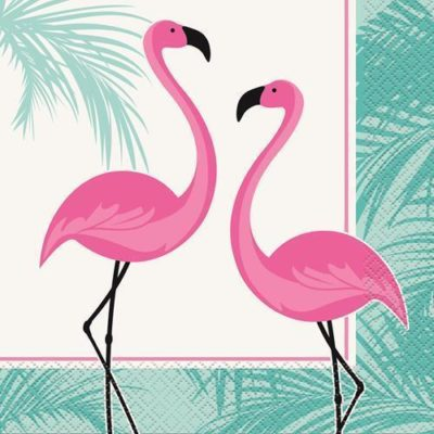 Flamingo Luncheon Napkins – 16Pk