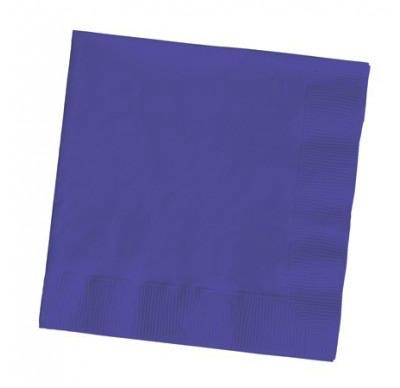 Purple 2Ply Plain Napkins – 50PK