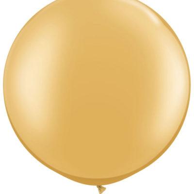 90 cm Jumbo Balloons- Gold