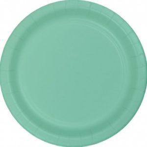 Mint Paper Plates – 24PK
