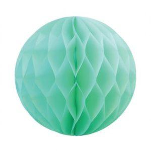 Honeycomb ball 25 cm – Mint 1pk