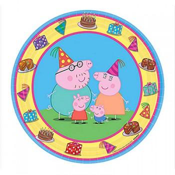 Peppa Pig Dinner Plates – 6Pk