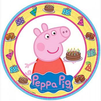 Peppa Pig Luncheon Plates – 6Pk