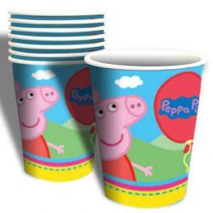 Peppa Pig Paper Cups – 6Pk