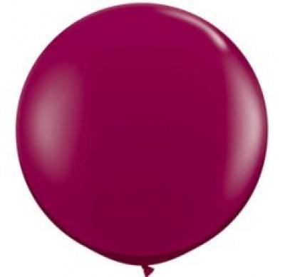 90 cm Jumbo Balloons- Burgundy