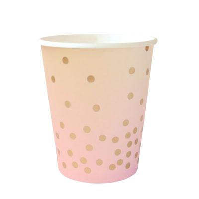 Pink Iridescent Cup – 10 Pk