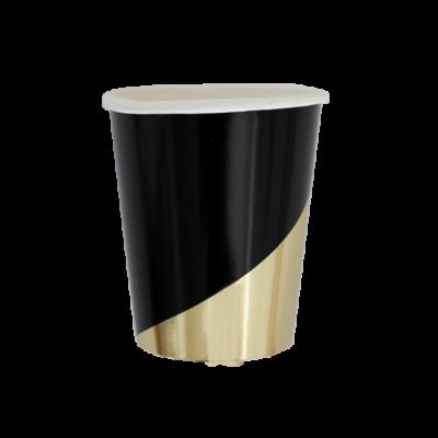 Noir Colour Block Cup – 8 Pack